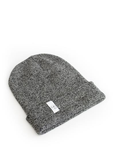 No1 BEANIE BLACK HEATHER