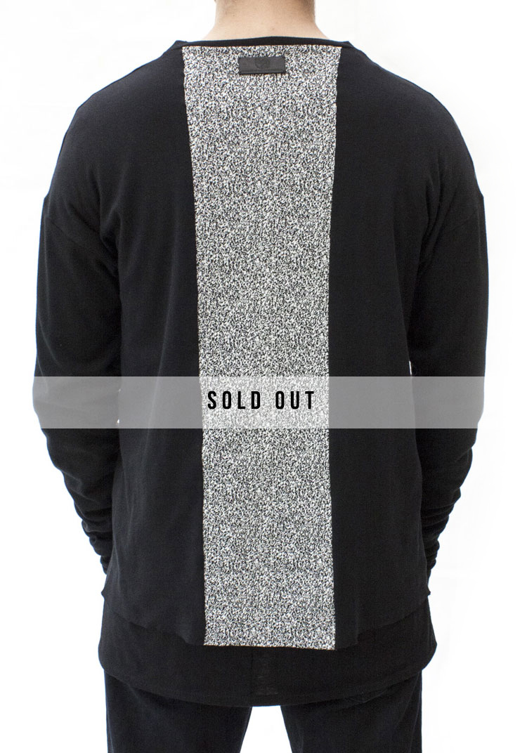 INTERFERENCE STACK LONG SLEEVE BLACK