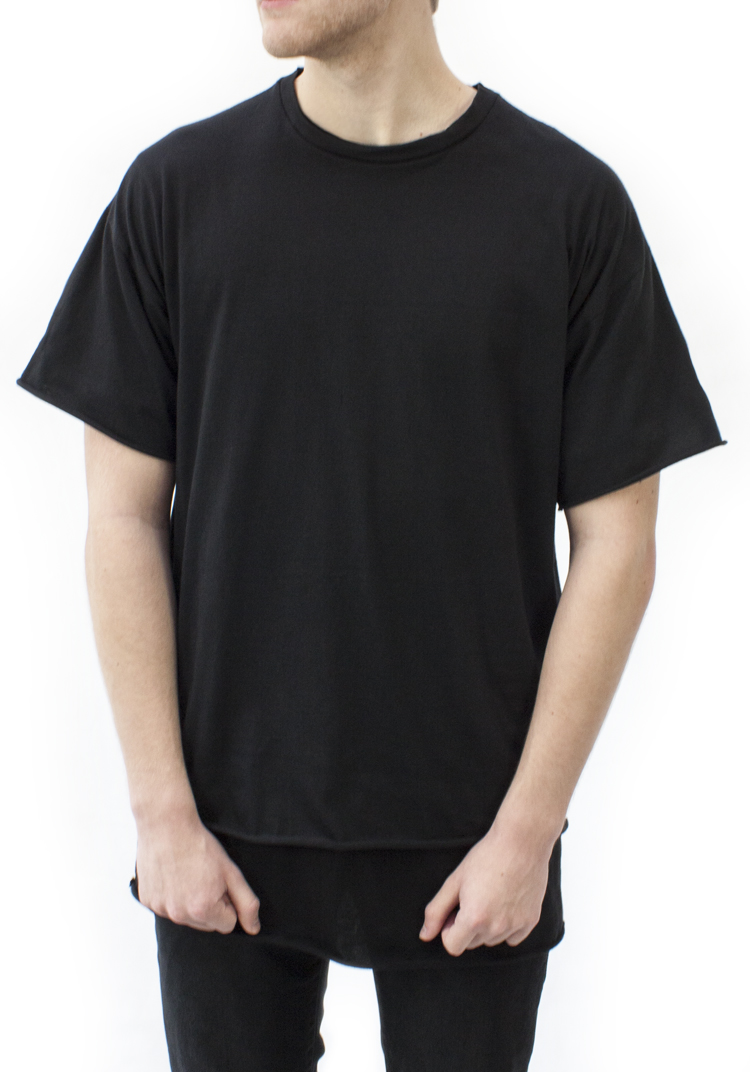 ESSENTIAL RELAX FIT T-SHIRT BLACK