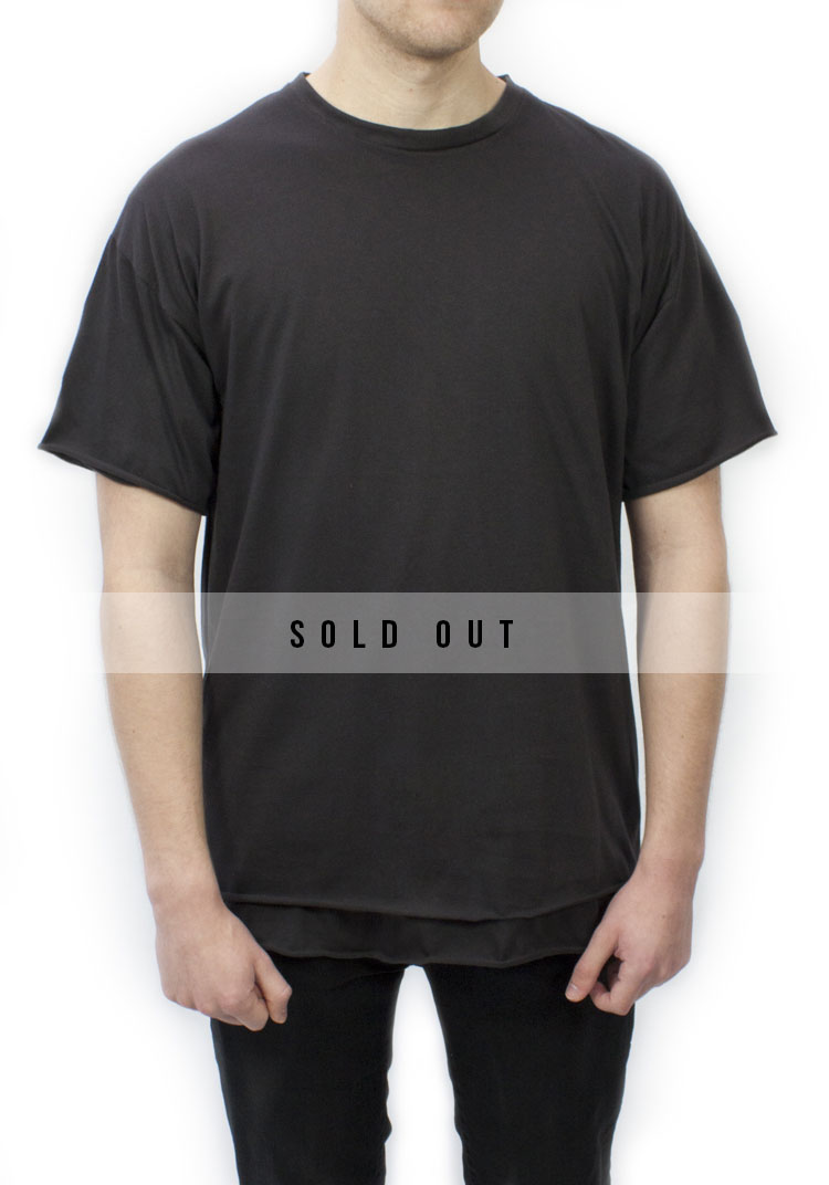 ESSENTIAL RELAX FIT T-SHIRT WASH BLACK