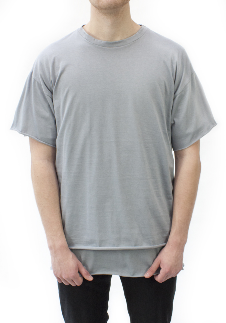 ESSENTIAL RELAX FIT T-SHIRT CLOUD GREY
