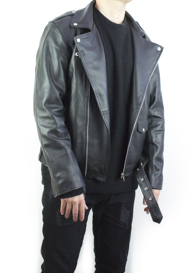 Road Warrior Leather Biker Jacket2