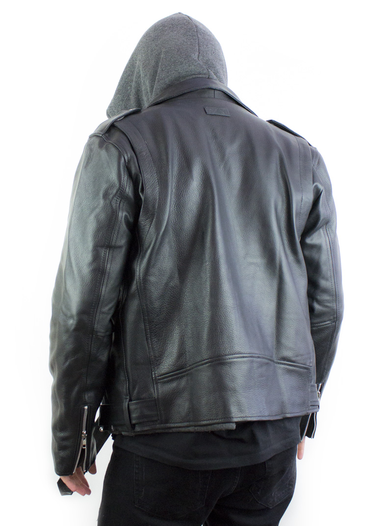 Road Warrior Leather Biker Jacket4