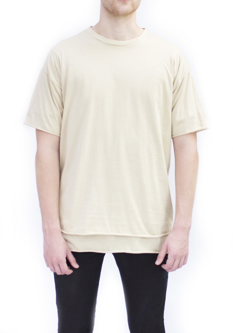ESSENTIAL RELAX FIT T-SHIRT STONE