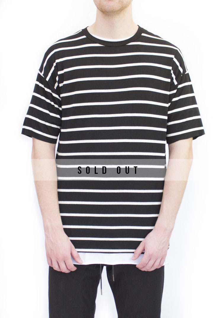 Black Band Relaxed fit T-shirt