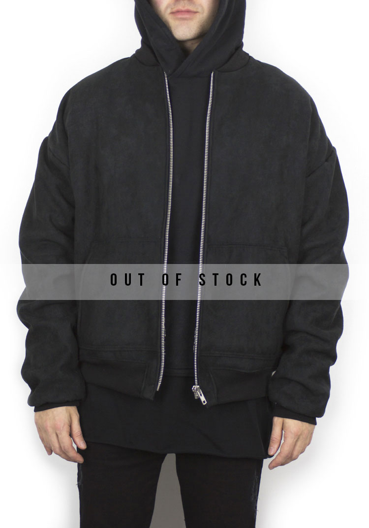 Destiny Suede and Sherpa Bomber(Limited Product)
