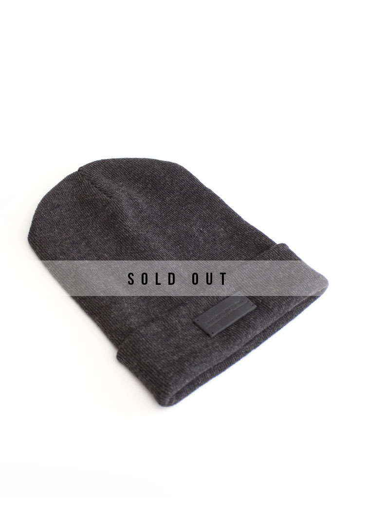 CHARCOAL LUX2 BEANIE