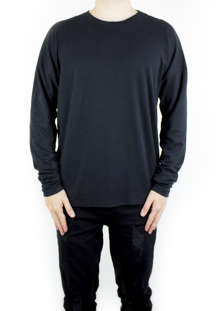 FURY ESSENTAIL LONGSLEEVE BLACK