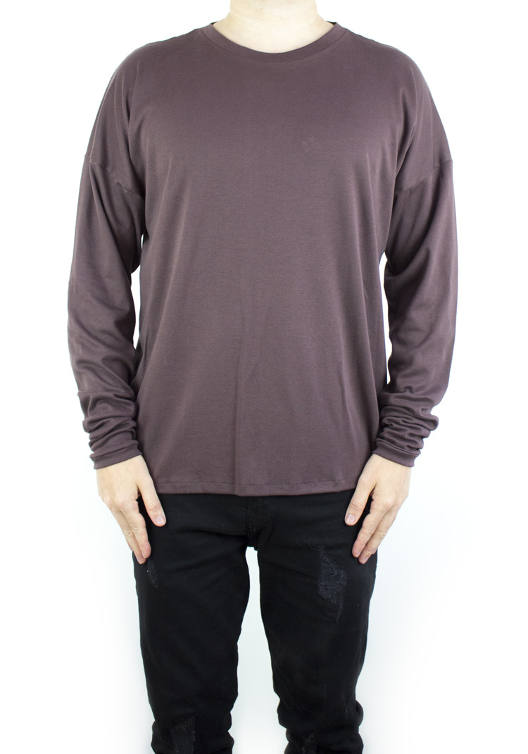 FURY ESSENTIAL LONGSLEEVE CHOCOLATE