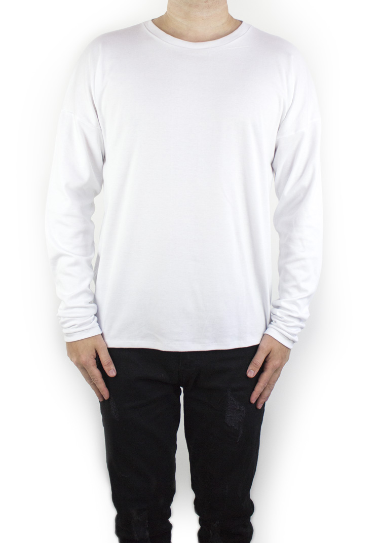 FURY ESSENTAIL LONGSLEEVE WHITE