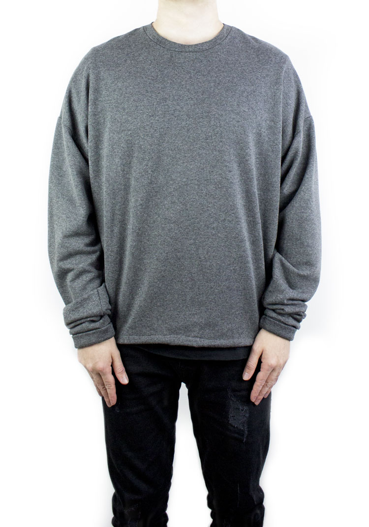 FURY SWEATSHIRT CHARCOAL