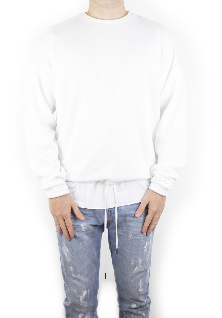 FURY SWEATSHIRT WHITE
