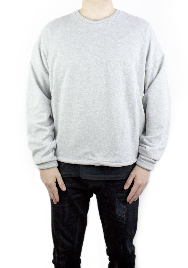 FURY SWEATSHIRT HEATHER GREY