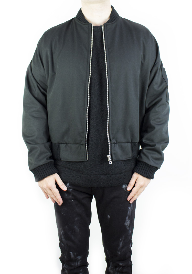 FURY BOMBER BLACK