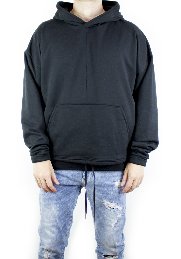 FURY HOODY BLACK