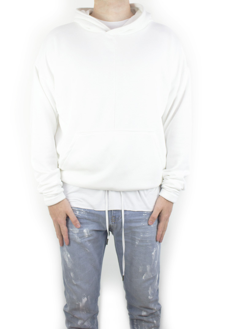 FURY HOODY WHITE