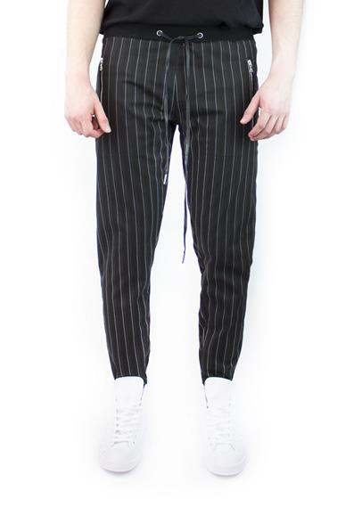 PIN STRIPE JOGGERS